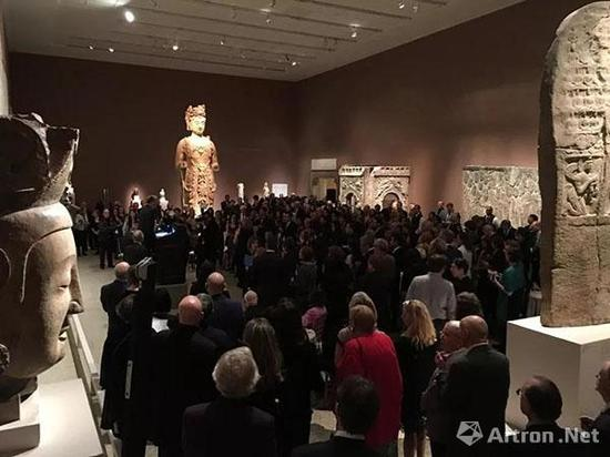 ▲纽约亚洲艺术周主办单位与大都会博物馆合作筹办秦汉时期文物特展
