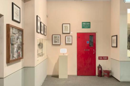 "2017年弗里兹伦敦艺博会豪瑟沃斯画廊现场,""青铜时代公元前约3500年 – 公元2017年""。图片:Alex Delfanne, courtesy of the artists, estates, and Hauser & Wirth"