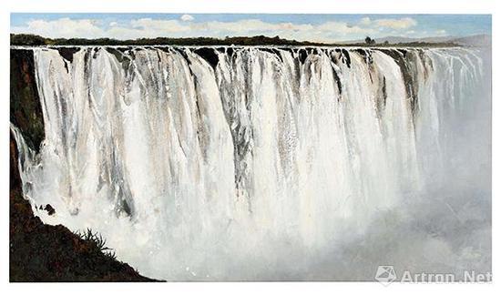 吴冠中《坦桑尼亚大瀑布》成交价:5369万港币