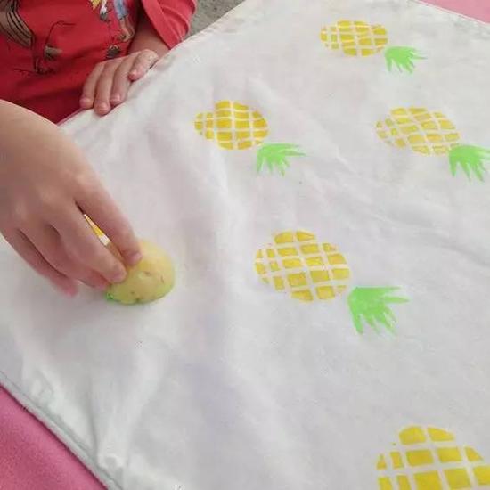 菠萝纹也很可爱。