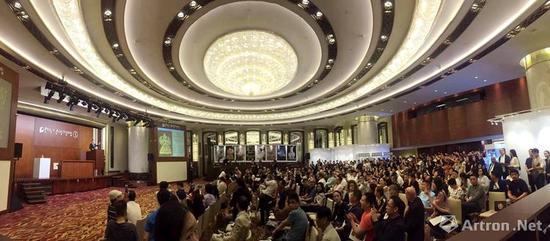 香港保利2017年秋季五周年庆典拍卖现场