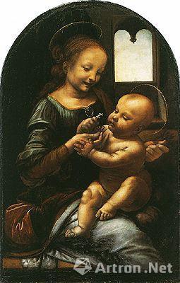 1909年发现的达·芬奇《柏诺瓦的圣母》