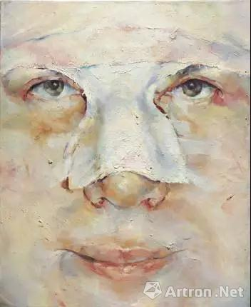 珍妮 萨维尔(1970年生) 《辛蒂》 油彩 画布
