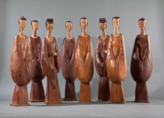 《汉女》 木  高120-125cm 1999年