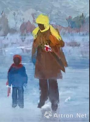 赫尔文 安德森(1965年生) 《皇家山,1998》 油彩 画布
