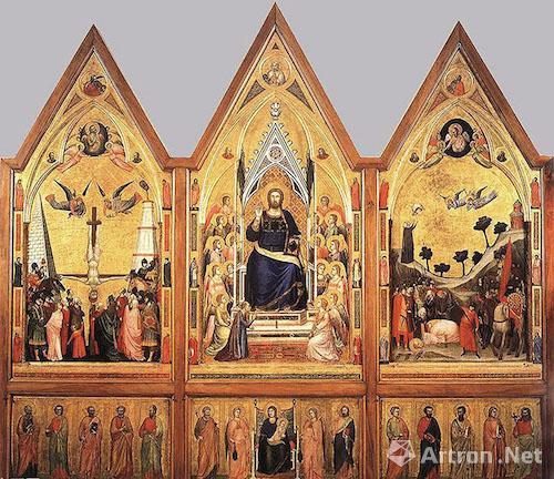 乔托《耶稣基督三联作》中的耶稣形象