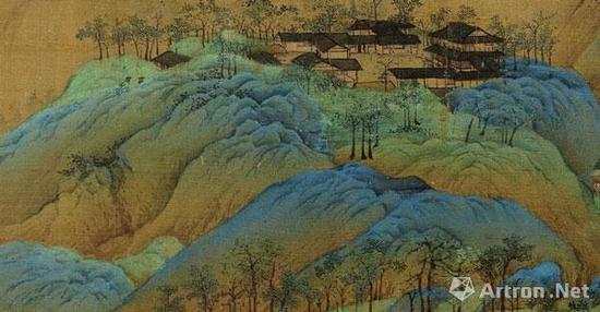 《千里江山图》的峦头结构