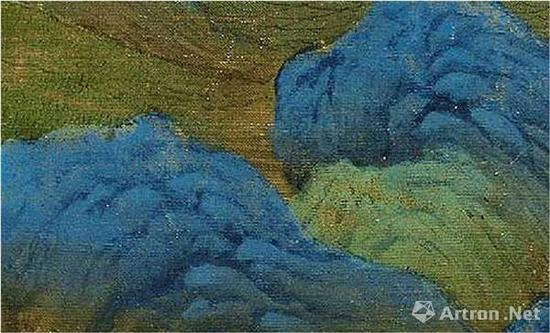 《千里江山图》的峦头