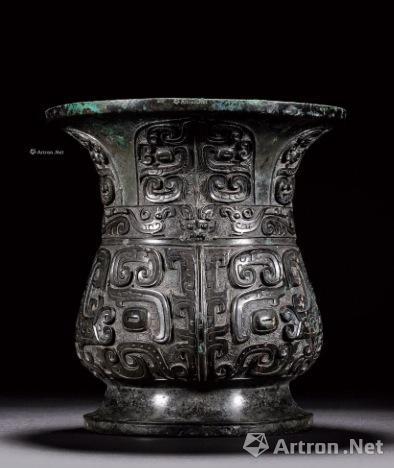 本轮香港秋拍市场中最贵的青铜器:3865万港币的西周中期寿?尊 香港翰海