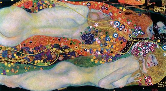 Gustav Klimt 画作「水蛇 II」以过十亿元拍出之后,从此销声匿迹。 图片来源:维基百科