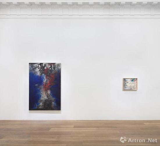 """列维·戈尔韦画廊开幕的""""德·库宁"""