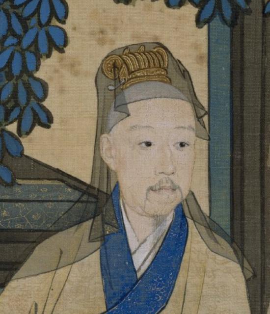 图4:《弘历宫中行乐图》局部