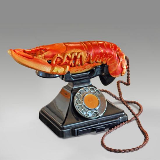 龙虾电话,达利,1938年