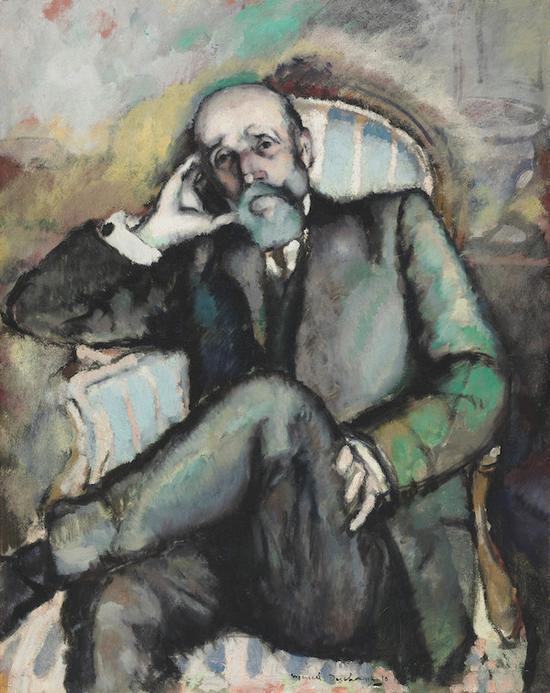 杜尚的父亲,1910年