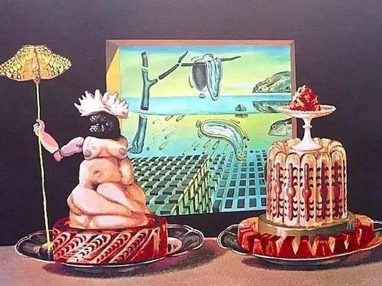 《我吃加拉》,达利,1971年