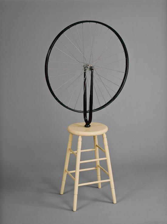 自行车轮,杜尚,1913年