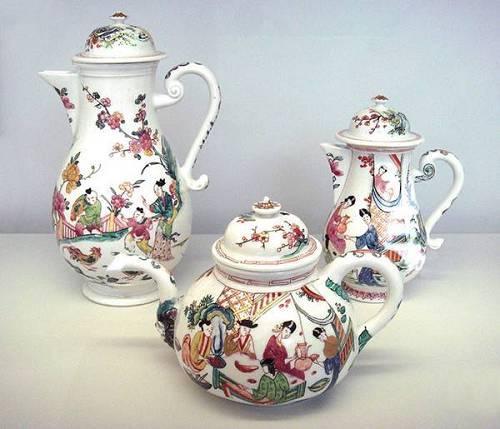 制作于1720年代的迈森瓷器