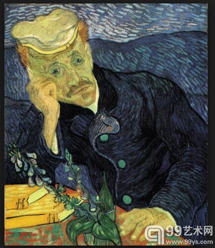 1.《加歇医生》(Portrait of Dr. Gachet ,1890) ,8250万美元。