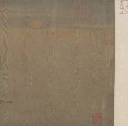 赵伯骕《万松金阙图》,绢本,设色,纵27.7cm,横136cm,北京故宫博物院藏