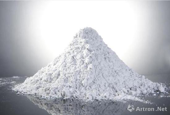 高岭土 图片来源于网络