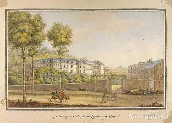 文森纳窑厂  1740年左右  ?法国塞弗尔国家陶瓷城