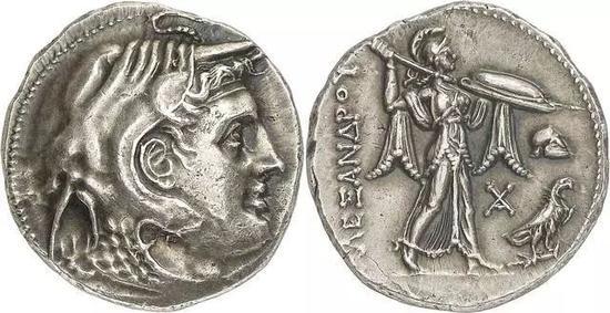 托勒密一世时的硬币