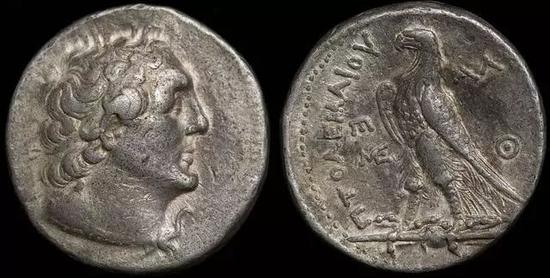 托勒密二世时的硬币