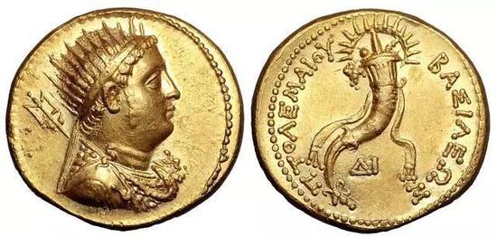 托勒密三世时的硬币