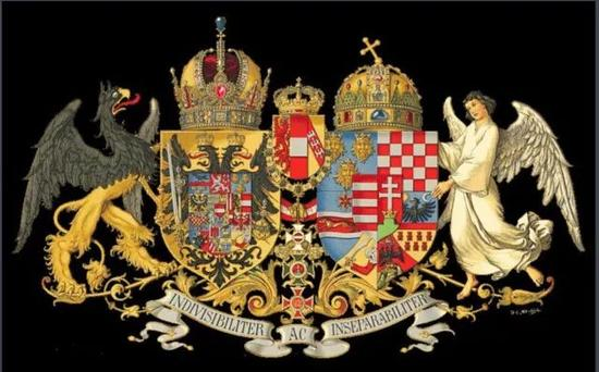 ▲奥匈帝国国徽