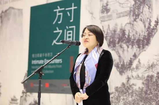 ▌中国嘉德国际拍卖有限公司董事总裁 胡妍妍女士致辞