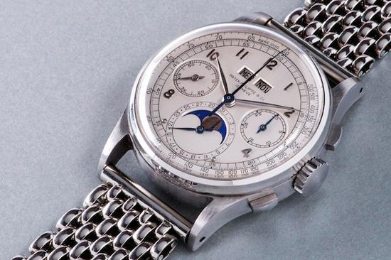 """曾经的""""史上最贵腕表""""同时也是史上""""最贵不锈钢表""""百达翡丽不锈钢1518。"""