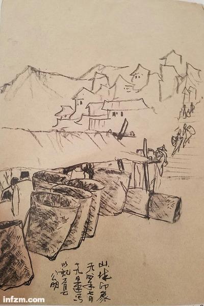 山城印象,1984年7月19日于万县(李公明/图)
