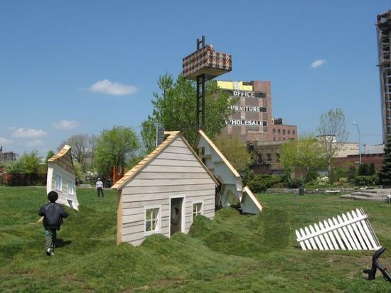 苏格拉底雕塑公园 纽约,皇后区,长岛