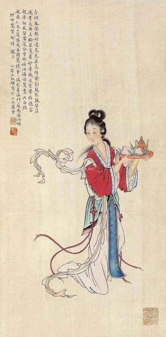 王叔晖先生的画意、风格主要是大胆地借鉴西方绘画的技法,既能够在传统技法中画出时代气息,又保持了中国传统文化的精髓。