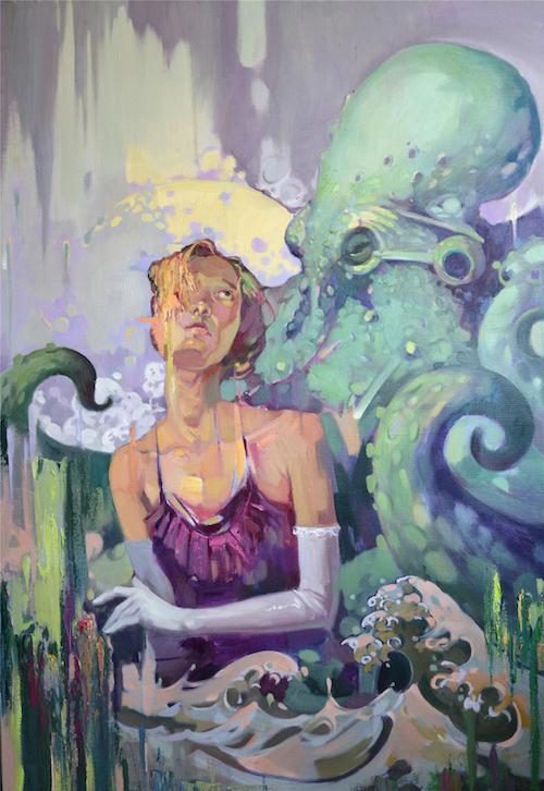 青年油画家裴根艺术赏析