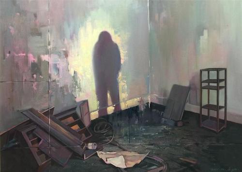 《混沌密室》100×80cm