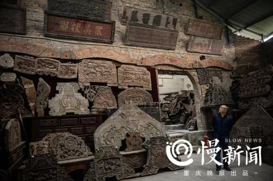 古人用来装饰房屋的各种牌匾