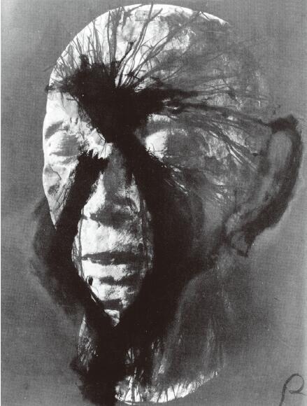 对路德维希·乌兰特死亡面具的复绘,阿努尔夫·莱纳,1978 年