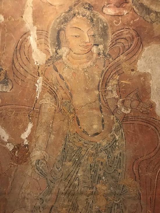 曲江艺术博物馆展出南北朝壁画