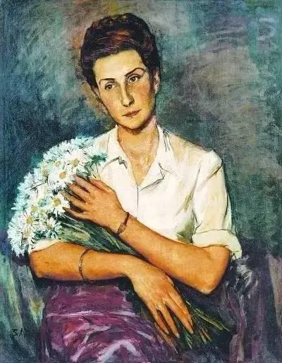 《抱鲜花的女人》以RMB471.5万元拍出