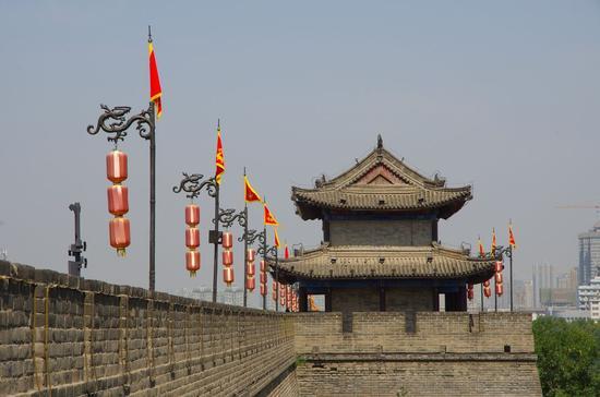 西安明城墙(网络图片)
