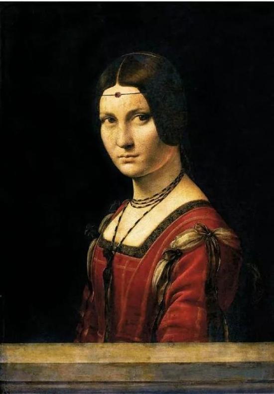达·芬奇《美丽的费隆妮叶夫人》