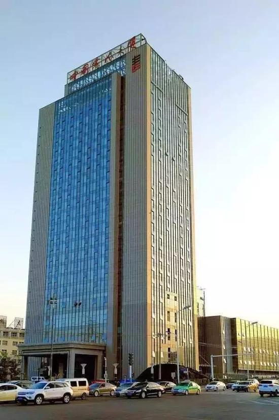 地处合肥市区的中国书法大厦