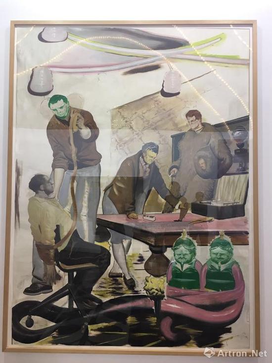 尼奥·劳赫作品《Konspiration》标价90~100万美金