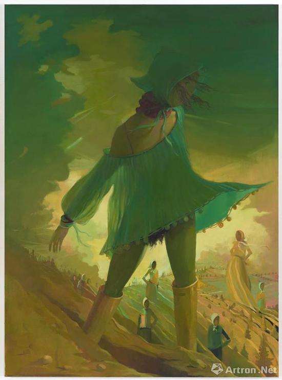 丽莎·约斯卡瓦吉作品《Scarecrow》以近100万美金的价格成功售出