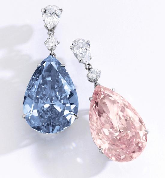 """""""阿波罗与阿特米斯""""钻石,合共拍出57,425,478 美元(约4亿人民币),刷新耳环世界拍卖纪录。"""