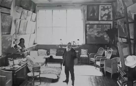 莫奈的起居室