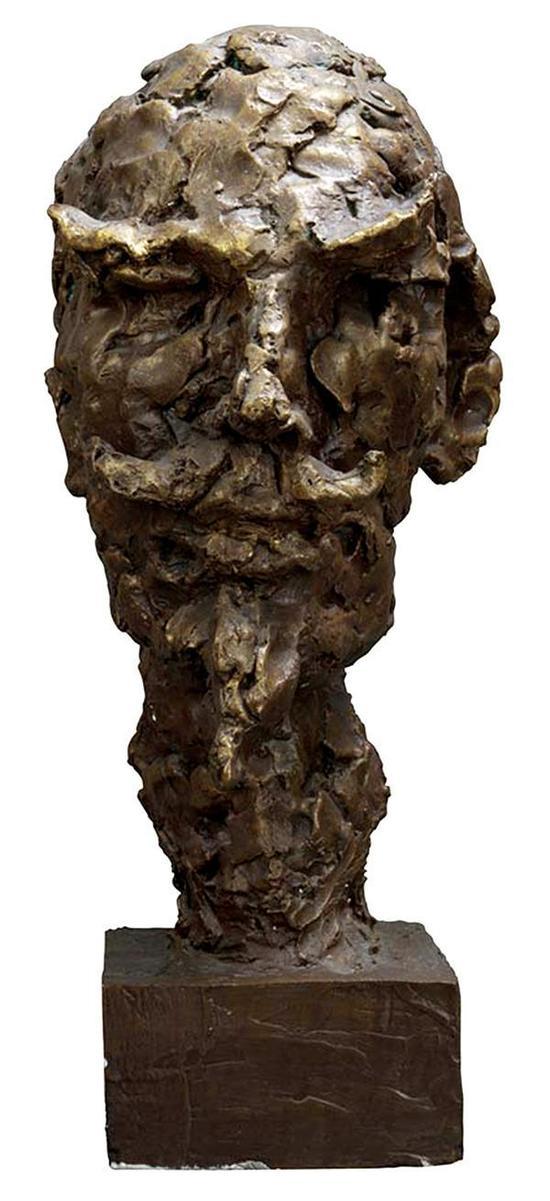 司徒安 堂。吉诃德 56cmx27cmx16cm 铸铜 2004年
