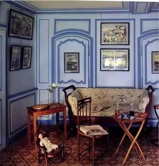 莫奈的书房