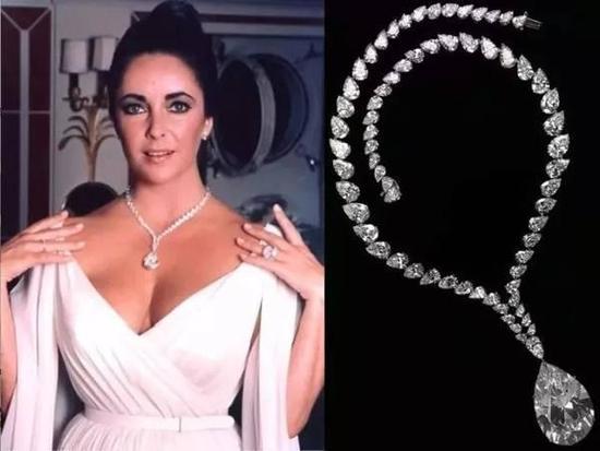 后来为了做慈善,泰勒将这枚钻石高价拍卖了